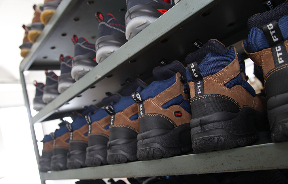 Scarpe antinfortunistiche FTG Safety Shoes