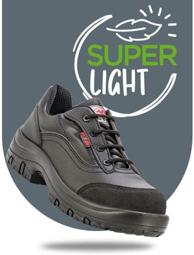 The world's lightest safety shoes